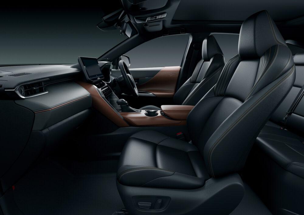 トヨタ新型ハリアー・プロトタイプ フロントシート