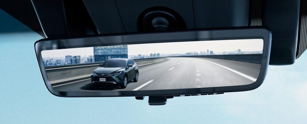 トヨタ新型ハリアー・プロトタイプ ルームミラー