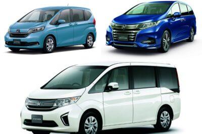 【ホンダのミニバン】新車全3車種一覧比較&口コミ評価|2020年最新版