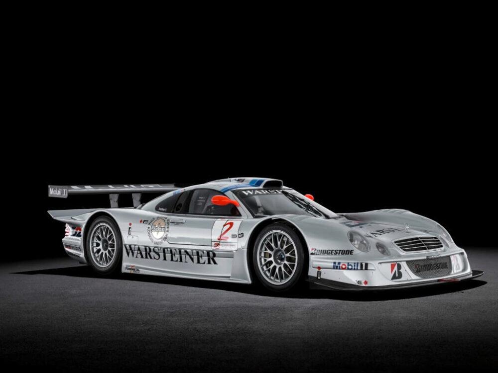 メルセデスAMG CLK GTR フロント サイド