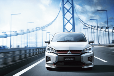 三菱 ミラージュが新型マイナーチェンジ|デザイン変更、安全装備を充実化