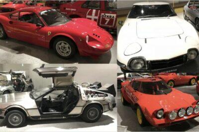 【四国自動車博物館に行ってみた】2000GTやデロリアンから謎のフェラーリまで50台超