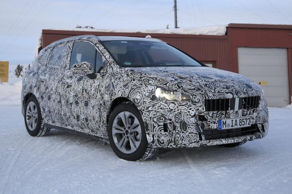 2020年4月にスクープされた次期新型BMW 2シリーズ アクティブツアラー