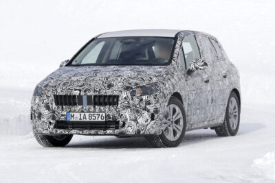 BMW 2シリーズ・アクティブツアラー新型をスクープ!初のフルモデルチェンジは2020年内か?