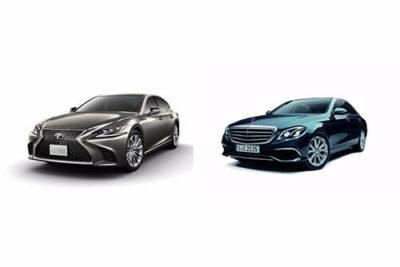 【レクサスLS vs メルセデスベンツEクラス】ライバル車徹底比較!