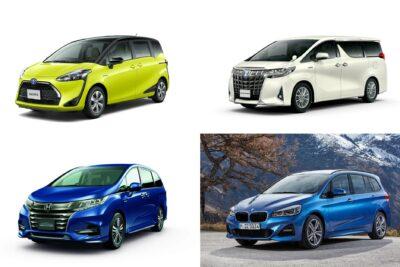 【7人乗りのミニバン】新車全16車種一覧比較&口コミ評価|2020年最新版