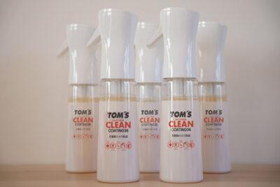 トムス マスク再利用スプレー「TOM'S CLEAN COATING36」を発表