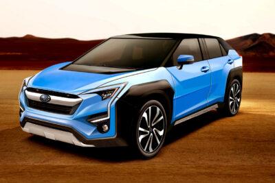 車名はエヴォルティス?スバル・トヨタ共同開発新型EV・SUVをスクープ!