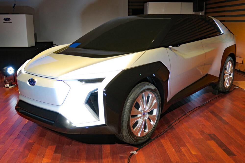 スバルが発表しているコンセプトカー「次世代SUBARU EV」