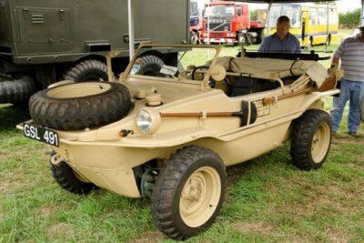 水陸両用軍用車のシュビムワーゲンとは?購入可能な販売元や中古車の価格情報など