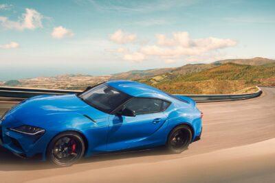 GRスープラ RZのエンジンを改良&ブルーの特別仕様車発売!ペシャルムービーも公開
