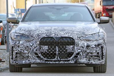 BMW 4シリーズ次期新型テスト車両をスクープ!フルモデルチェンジでキドニーグリルは巨大化