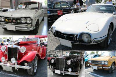 【旧車画像80枚】2000GTやハコスカがクラシックカーフェスティバルに集結!