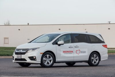 ホンダ、感染者搬送車両の提供フェイスシールド生産開始などで新型コロナ感染拡大防止へ支援