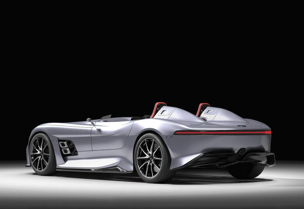 メルセデス・ベンツ SLRマクラーレン復活新型予想CG リア・サイド