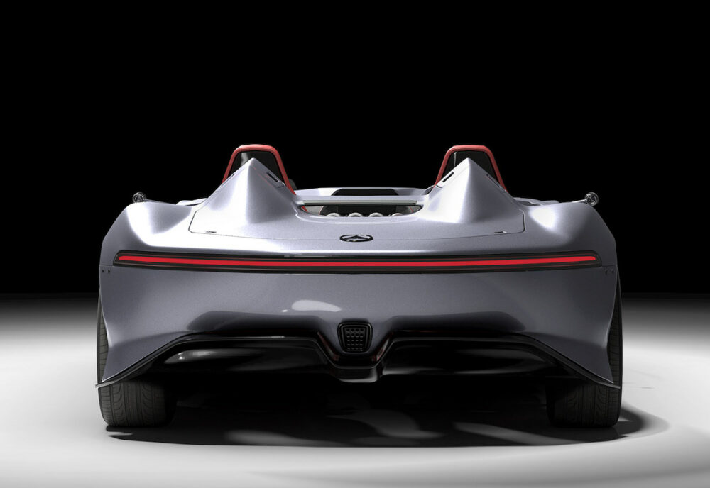 メルセデス・ベンツ SLRマクラーレン復活新型予想CG リア
