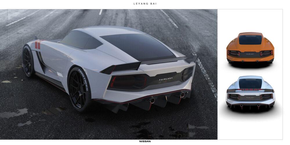 次期新型フェアレディZ 予想CG リア ボディカラー3色