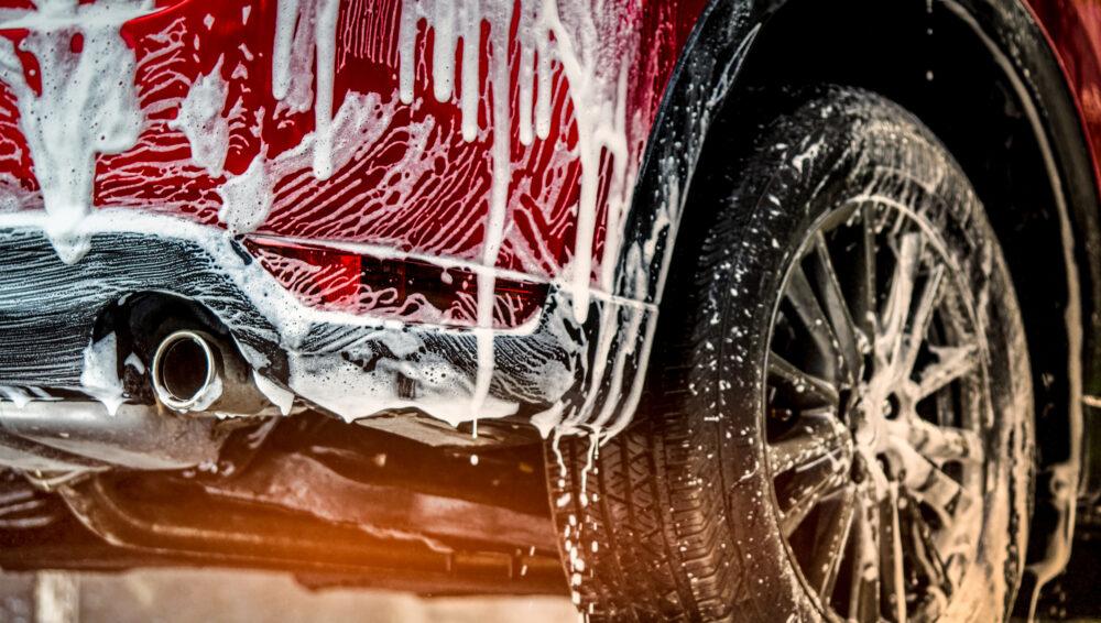 車の洗車イメージ
