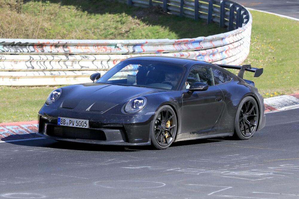 次期新型ポルシェ 911 GT3 プロトタイプ