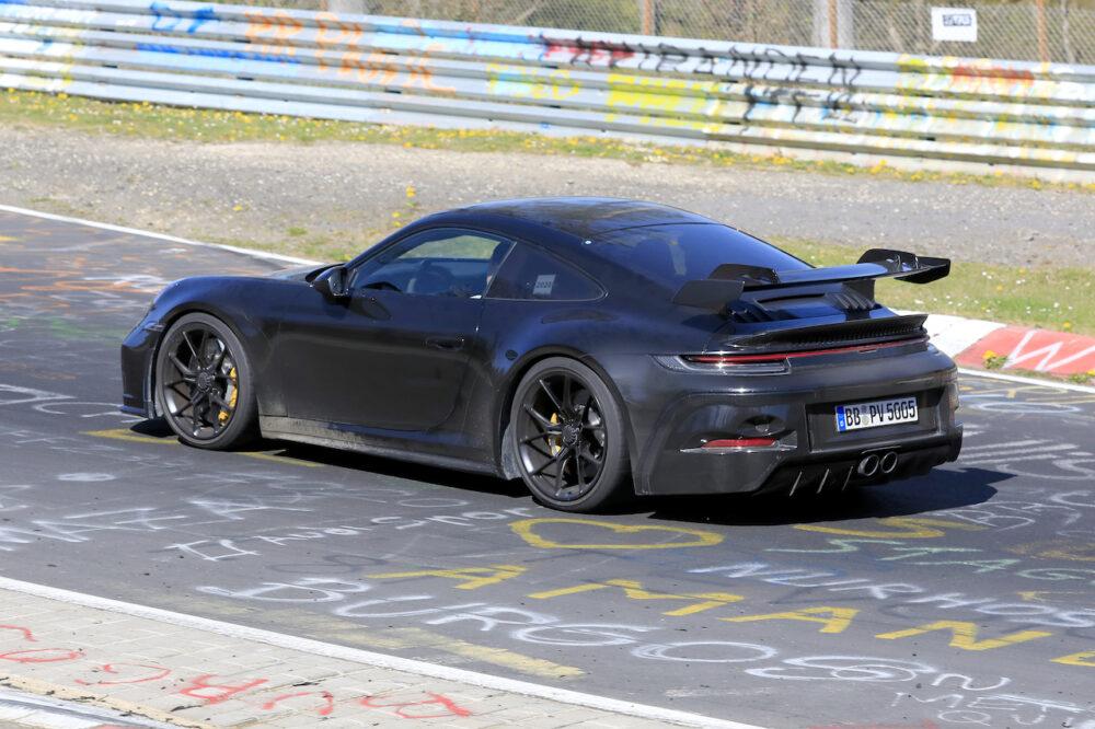 次期新型ポルシェ 911 GT3