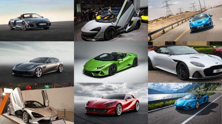 超高級スポーツカー/スーパーカーを価格の高い順にランキング!TOP10を発表 2020年最新版