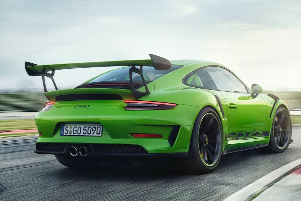 現行911 GT3 RS リア