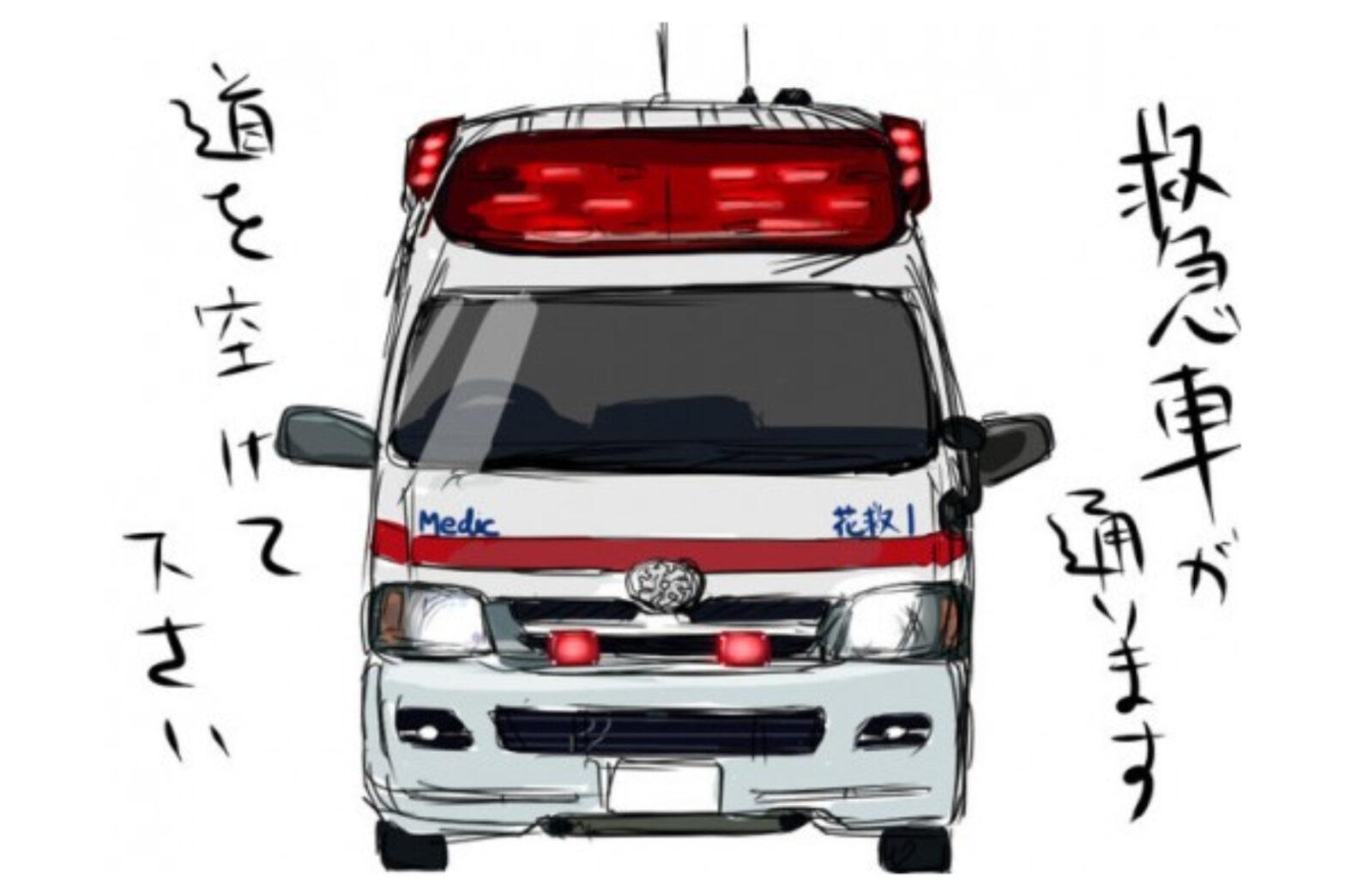 【400万再生超】ハンガリーの救急車爆走速すぎ!日本と比較した海外の反応が…