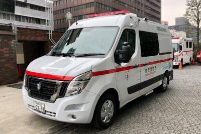 日産の日本初EV救急車が東京消防庁で稼働開始「ゼロエミッション東京」の取り組み