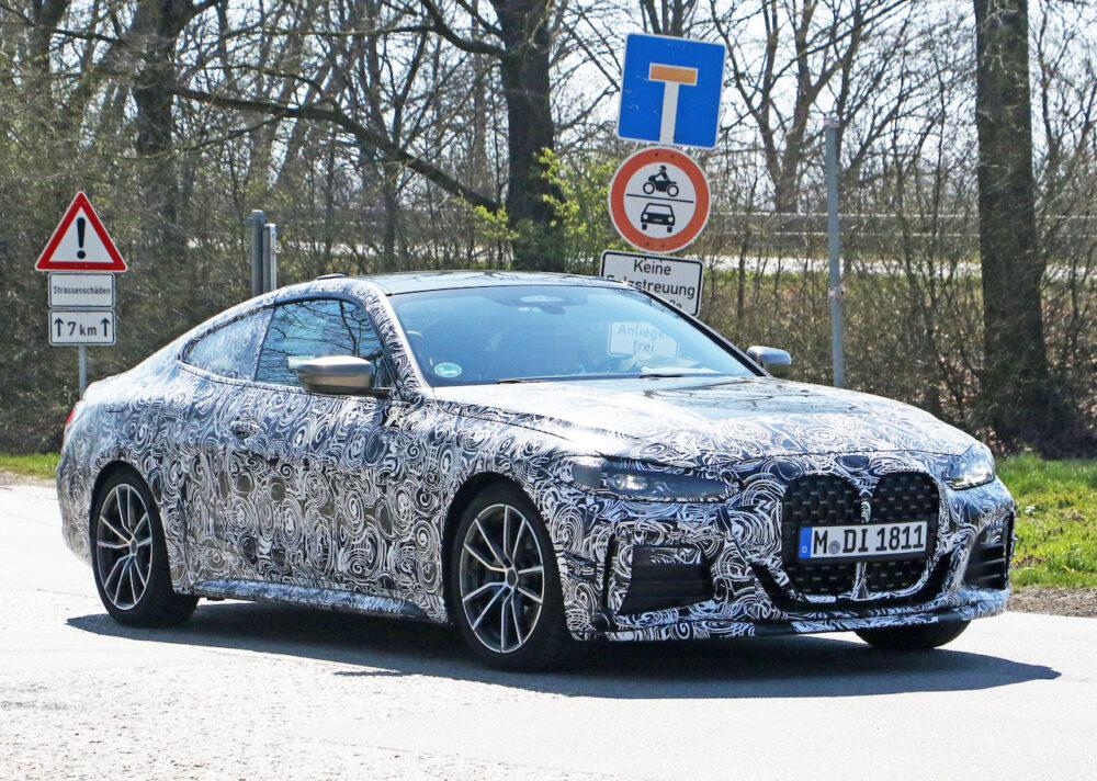 次期新型BMW 4シリーズ Mパフォーマンス スパイショット