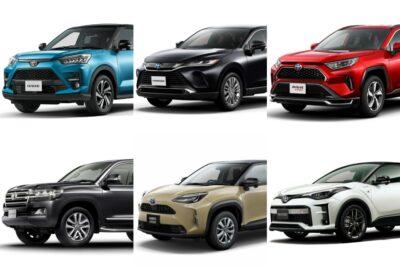 【トヨタのSUV一覧】新車全8車種の特徴&評価|2021年最新版