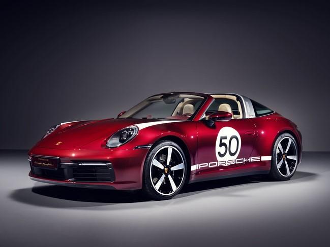 ポルシェ 911タルガ4S ヘリテージデザインエディション