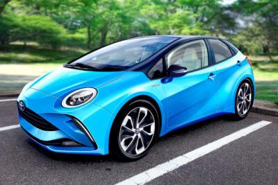 新型トヨタ「LQ」次世代コンパクトEVの予想CGとスクープを入手!