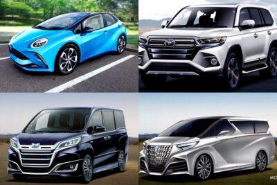 【トヨタ】新型車デビュー・モデルチェンジ予想&スクープ|2020年8月最新情報
