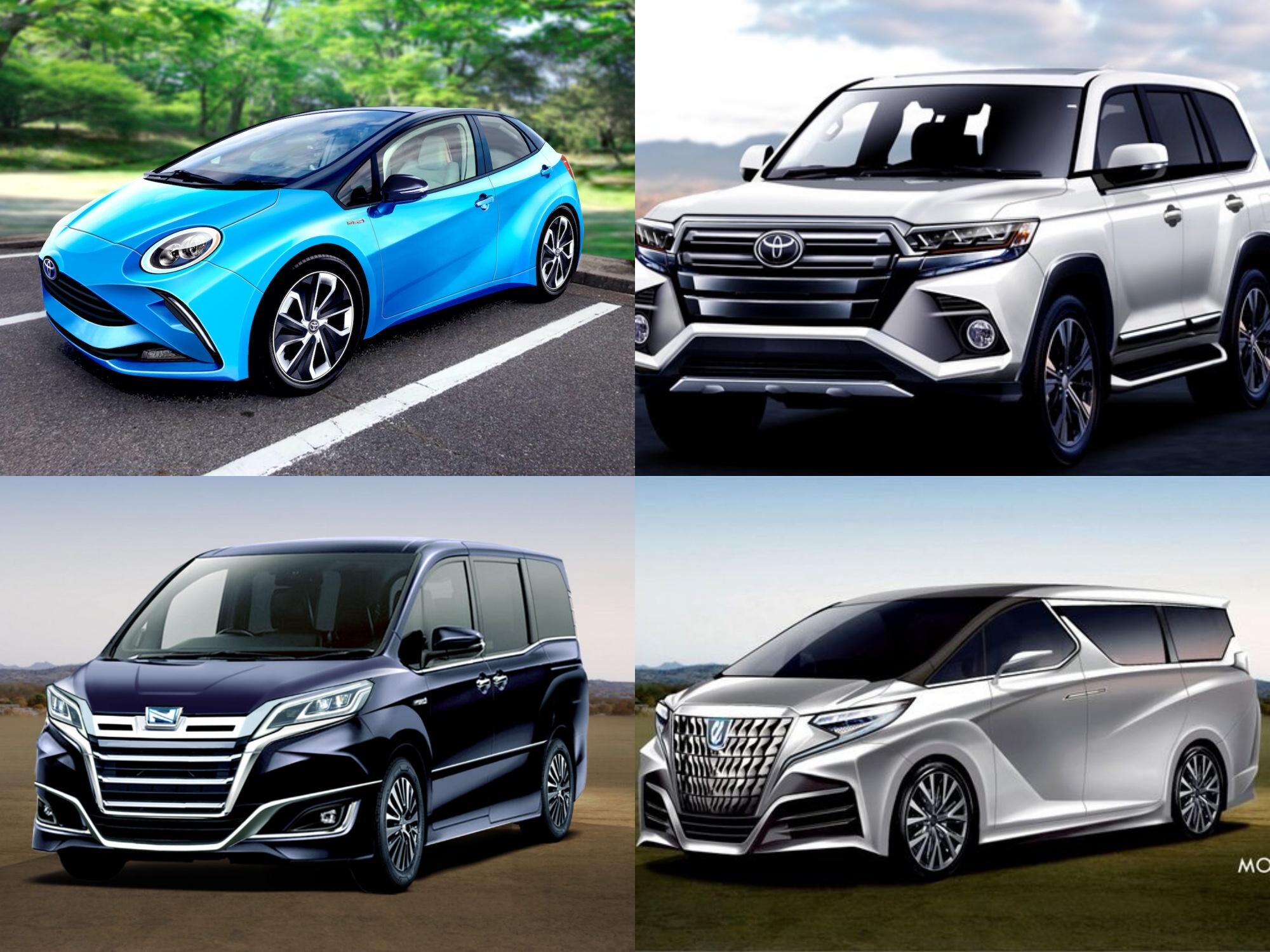 【トヨタ】新型車デビュー・モデルチェンジ予想&スクープ|2020年6月最新情報