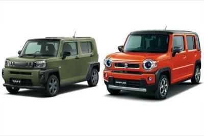 7番勝負!新型発売開始のダイハツ タフト VS スズキ ハスラー 軽SUV比較対決だ!