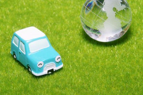 地球に優しい車のイメージ画像