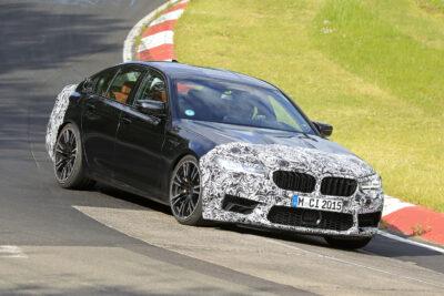 BMW史上最速「M5」改良新型をスクープ!0-100km/h加速は3.3秒へ