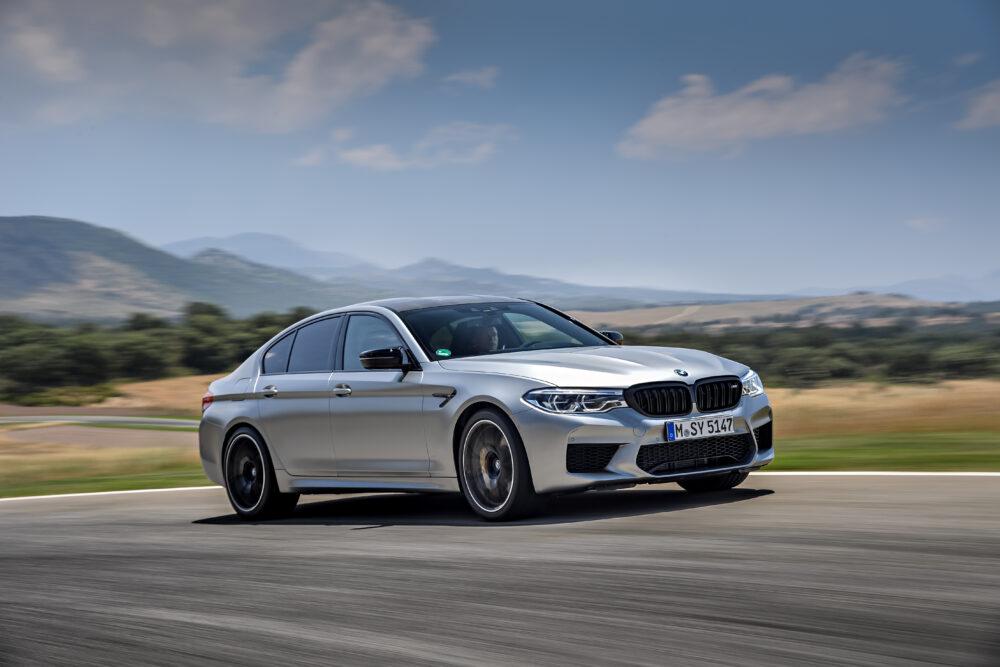 【第3位】BMW M5 コンペティション 3.3秒