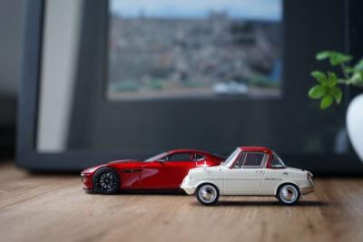 マツダファン必見!あの名車のモデルカーなどを「MAZDA COLLECTION」で販売!拘り過ぎです!