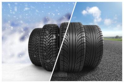 オールシーズンタイヤはスタッドレスと何が違う?冬タイヤ規制区間や雪道は走れる?