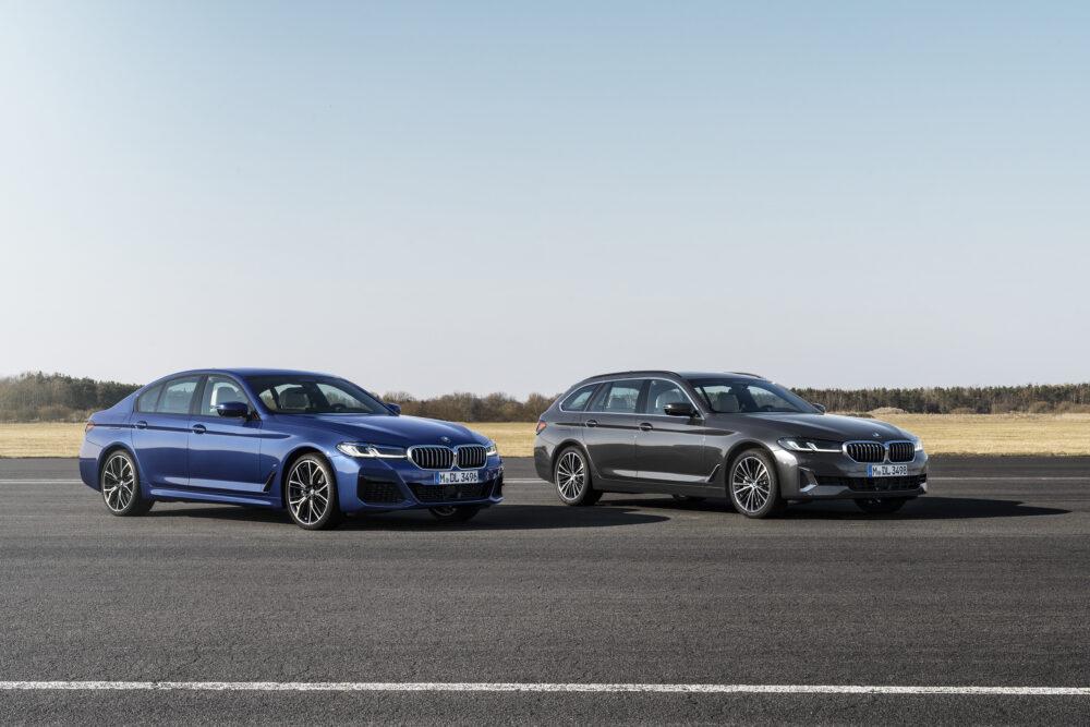 マイナーチェンジした新型BMW 5シリーズ セダンとツーリング