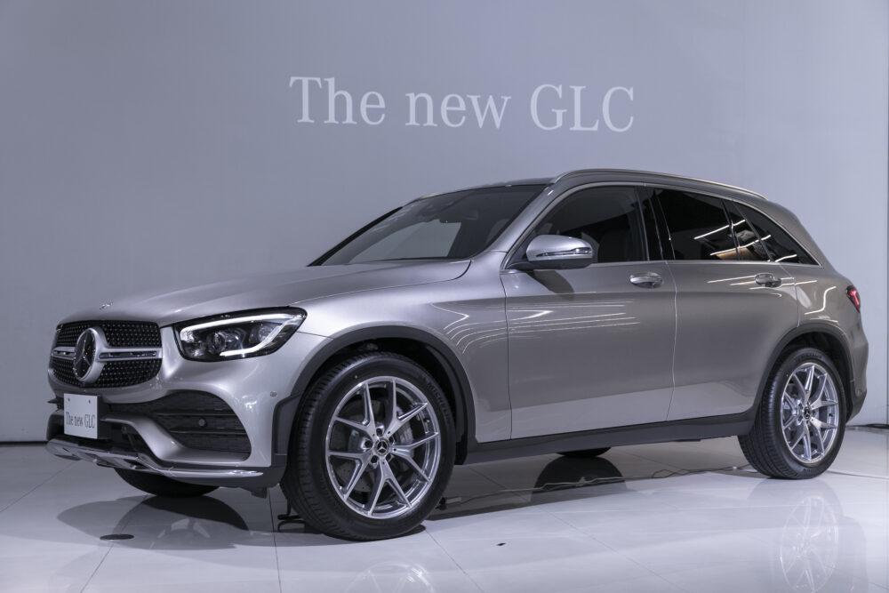 メルセデス・ベンツ GLC 現行モデル フロントとボディサイド