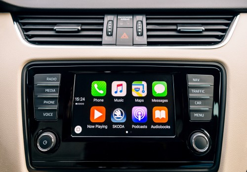 Apple CarPlayの画面