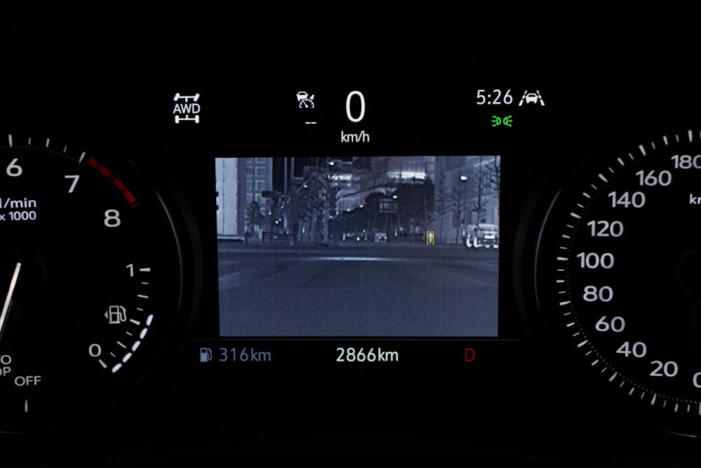 キャデラック XT6 ナイトクルーズ エディション ナイトクルーズ画面