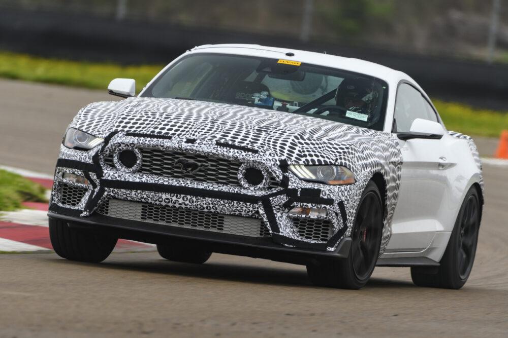 新型フォード マスタング マッハ1 プロトタイプ 公式リーク