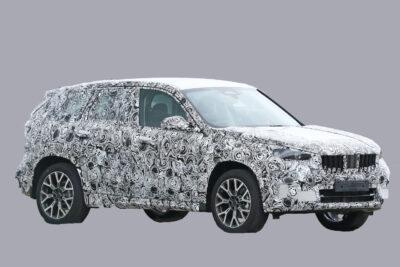 次期新型BMW X1 プロトタイプをスクープ!3代目はクーペSUV風へフルモデルチェンジか