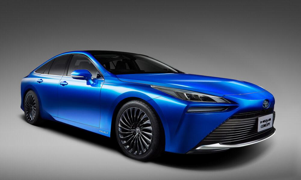 東京モーターショー 2019 で発表されたトヨタ「MIRAI Concept」
