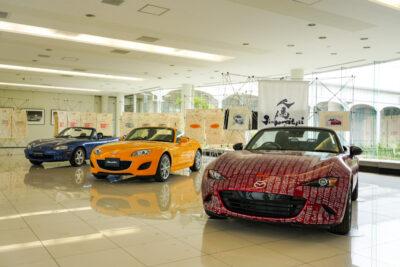 ロードスター展7月23日〜開催!10th署名車も展示 – マツダ100周年のお祝いも【イベント案内】