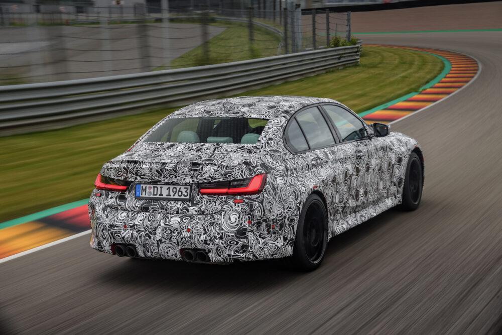 次期新型 BMW M4セダン 公式リーク リア