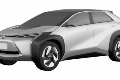 トヨタ新型EV・クロスオーバーSUVの特許画像が流出!スバルと共同開発か